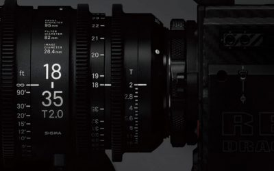 Revolutionary lenses for the era of high resolution digital cinematography