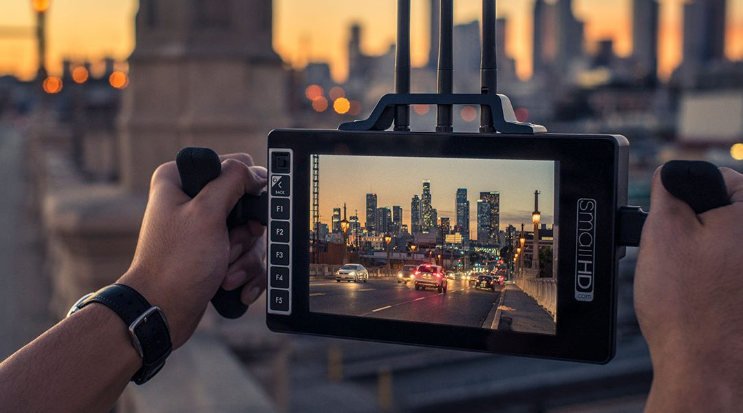 SmallHD and Teradek Combine Technology with 703 Bolt Wireless Director's Monitor