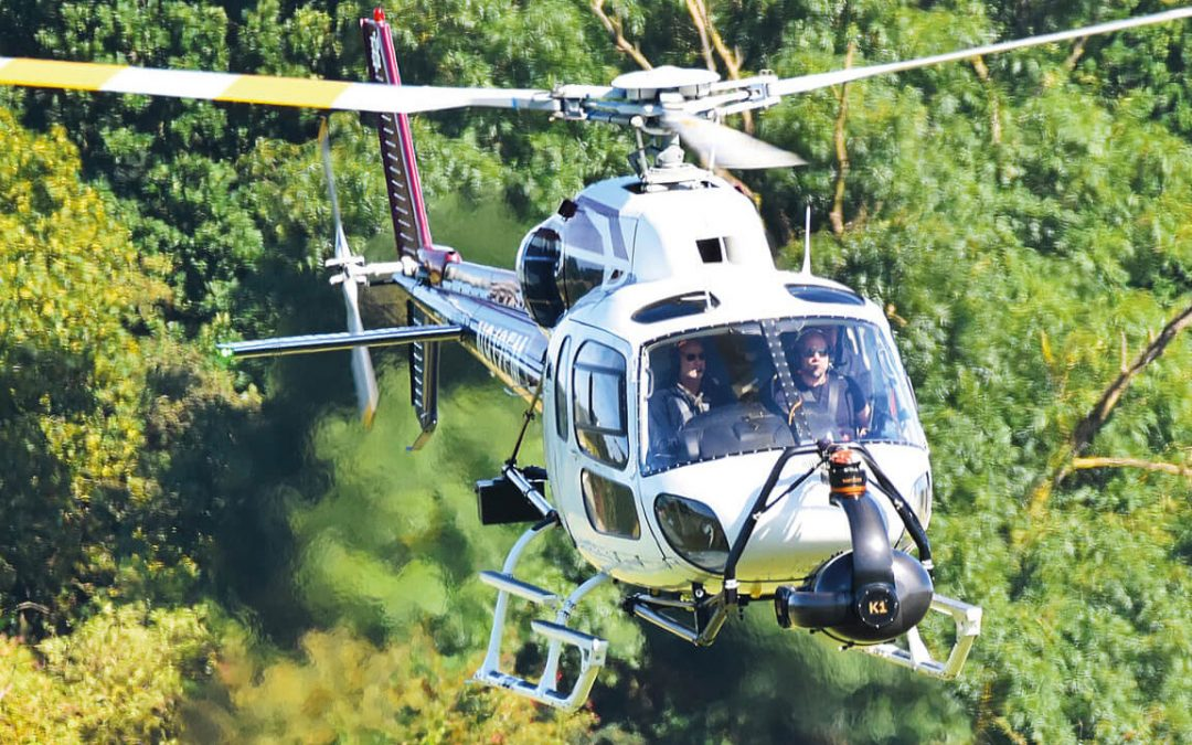 GB Helicopters now offer the Shotover K1  6-axis Gyro Stabilized Gimbal Platform