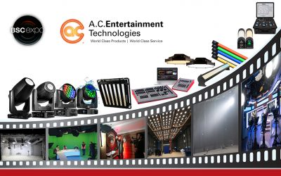 A.C. Entertainment Technologies Unveils Leading Film & TV Solutions at BSC Expo 2019