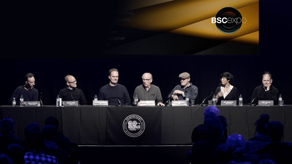 Watch: BSC Expo 2019 – 'New media and beyond, from the cinematographers perspective'