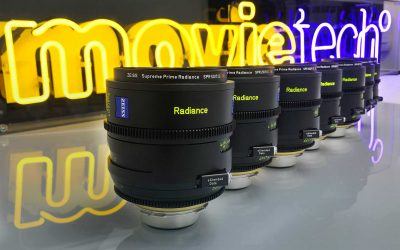 Movietech take exclusive first delivery of new Zeiss Supreme Radiance Primes.